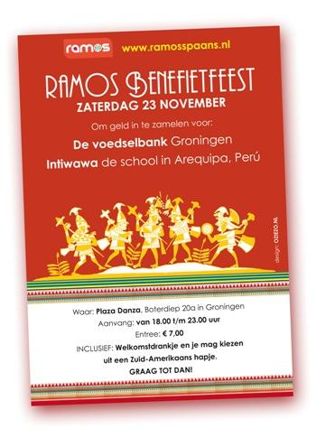 Benefietfeest Ramos Spaans 23 november 2013